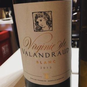 Bordelais - Bordeaux blanc - Virginie de Valandraud - 2013