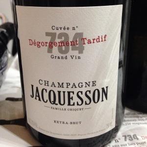 Champagne – Jacquesson – Famille Criquet – Brut – Cuvée n°734 Grand vin
