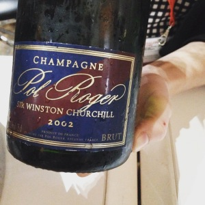 Champagne – Pol Roger - Sir Winston Churchill - 2002