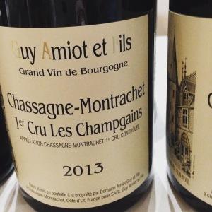 Chassagne-Montrachet 1er Cru - Guy Amiot et Fils - Les Champgains - 2013