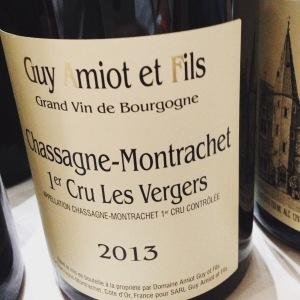 Chassagne-Montrachet 1er Cru - Guy Amiot et Fils - Les Vergers – 2013