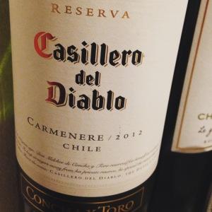 Chili - Rapel Valley - Concha y Toro - Casillero Del Diablo -Carmenere - Reserva - 2012