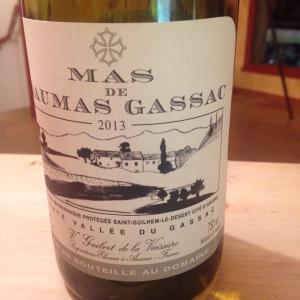 Languedoc-Rousillon – IGP Pays d'Herault - Mas de Daumas Gassac – Blanc – 2013