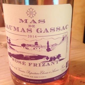 Languedoc-Rousillon - Vin de Table - Mas de Daumas Gassac - Rosé frizzante - 2014