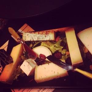 Plateau de fromage de chez Betty