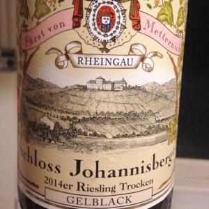 Allemagne – Rheingau - Schloss Johannisberg – Riesling trocken - 2014