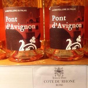 Cuvée Pont d'Avignon Côtes du Rhône - 6,50 euros (Les Vignerons de Castelas)