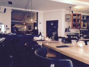 Le restaurant (merci Instagram pour la lumière artificielle)