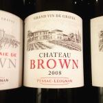 Bordelais - Pessac-Léognan - Château Brown - 2008 14.50 euros