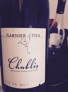 Bourgogne - Chablis - Garnier et fils - 2014
