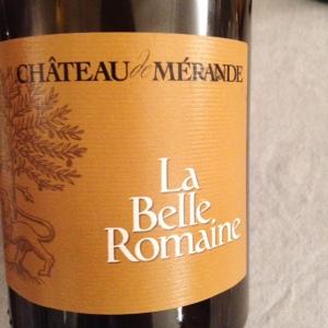 Savoie – Château La Mérande - Mondeuse – La Belle Romaine - 2013