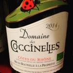 Vallée du Rhône - Côtes du Rhône - Domaine des Coccinelles - 2014 6.40 euros