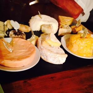 Aureilles - Table d'Alonso - Plateau de fromages