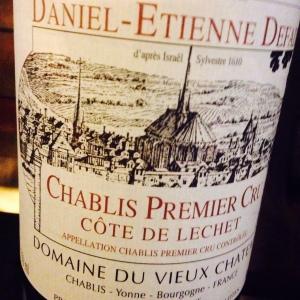 Bourgogne – Chablis 1er Cru – Côte de Léchet – Domaine Daniel-Etienne Defaix - 2003