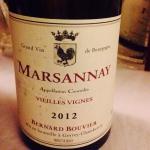 Bourgogne - Marsannay - Bernard Bouvier - Vieilles Vignes - 2012