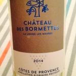 Côtes de Provence - Château Les Bormettes – Cuvée l'Argentière - 2014