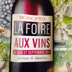 Monoprix Foire aux vins 2015 FAV2015