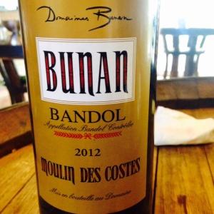 Provence - Bandol - Domaine Bunan - Moulin des Costes - 2012
