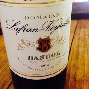 Provence - Bandol - Domaine Lafran-Veyrolles - 2012