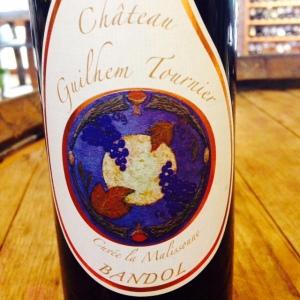 Provence - Bandol - Guilhem Tournier - Cuvée La Malissonne - 2012