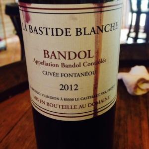 Provence - Bandol - La Bastide Blanche - 2012