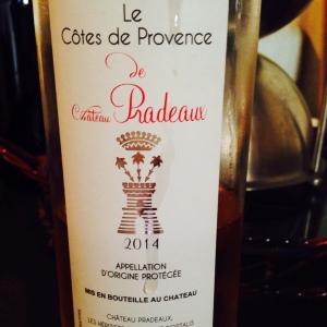 Provence - Côtes de Provence - Château Pradeaux - 2014