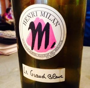 Provence – VDF - Domaine Henri Milan – Le Grand Blanc -2013