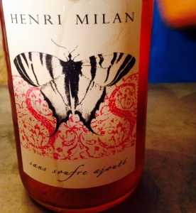 Provence – VDF - Domaine Henri Milan - Papillon – Rosé – 2014