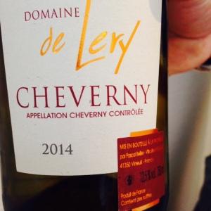 Vallée de la Loire - Cheverny – Pascal Bellier - Domaine de Lery - 2014