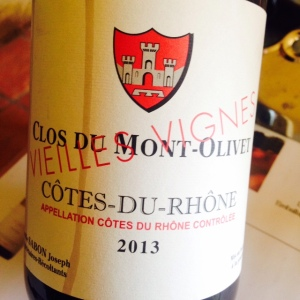 Vallée du Rhône - Côtes du Rhône - Clos du Mont-Olivet - Vieilles vignes - 2013
