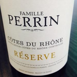 Vallée du Rhône - Côtes du Rhône - Famille Perrin - Réserve - 2012 - blanc