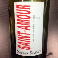 Beaujolais - Saint-Amour - Christophe Pascalet - 2014