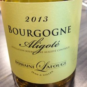 Bourgogne – Bourgogne Aligoté – Domaine Lafouge - 2013