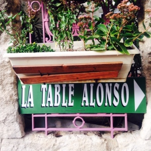 Restaurant - Aureille - La Table d'Alonso - 1