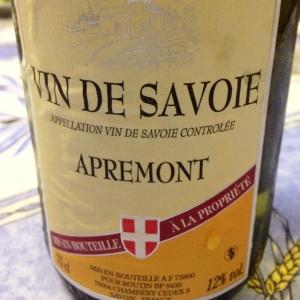 Savoie – Apremont – 2014 (Nicolas)