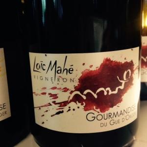 Vallée de la Loire - Anjou rouge- Loïc Mahé - Gourmandise du Gué d'Orger - xxxx