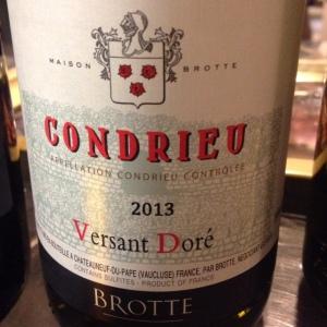Vallée du Rhône - Condrieu - Maison Brotte - Versant Doré - 2013