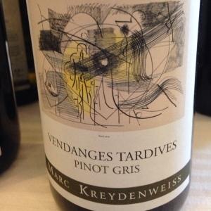 Alsace – Pinot gris - Domaine Marc Kreydenweiss – Vendanges Tardives – 2010