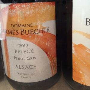 Alsace – Pinot gris – Domaine Barmès-Buecher – Pfleck – 2012