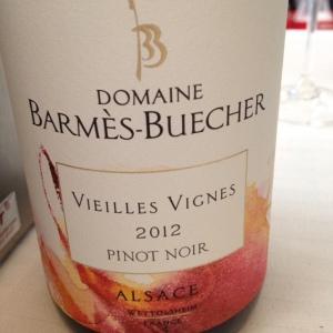 Alsace – Pinot noir – Domaine Barmès-Buecher – Vieilles Vignes - 2012
