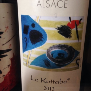 Alsace – Riesling - Domaine Josmeyer – Le Kottabe – 2013