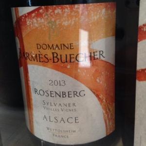 Alsace – Sylvaner – Domaine Barmès-Buecher – Rosenberg – Vieilles vignes - 2013