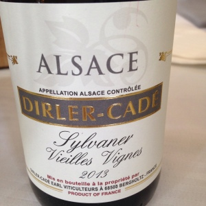 Alsace – Sylvaner – Domaine Dirler-Cadé – Vieilles Vignes – 2013