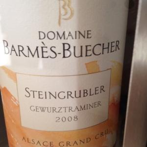 Alsace Grand Cru – Gewurztraminer – Domaine Barmès-Buecher – Steingrubler - 2008