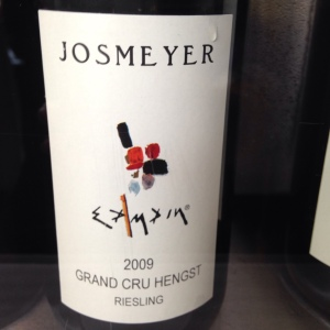 Alsace Grand Cru – Riesling - Domaine Josmeyer – Hengst – 2009