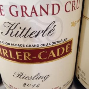 Alsace Grand Cru – Riesling – Domaine Dirler-Cadé – Kitterlé – 2014