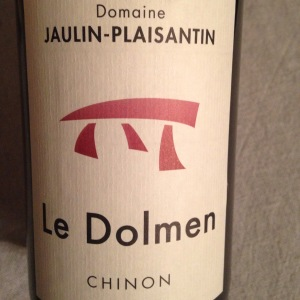 Vallée de la Loire - Chinon - Domaine Jaulin-Plaisantin - Le Dolmen - 2013