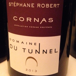Vallée du Rhône – Cornas – Domaine du Tunnel – Stéphane Robert – 2013