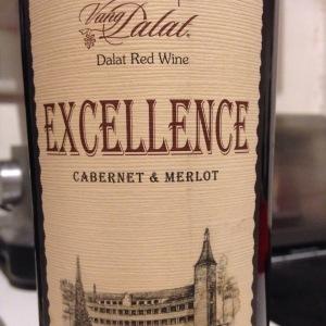 Vietnam – Dalat – Vang Dalat - Excellence – Cabernet & Merlot