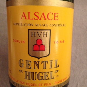Alsace - Hugel - Gentil - 2013